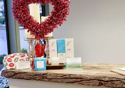 Valentine's Day product display