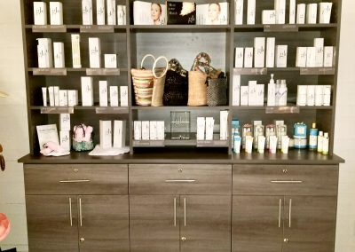 Skin care products and handbags
