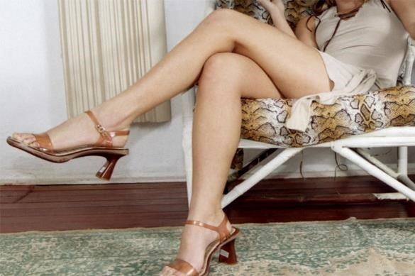 Beautiful woman's legs