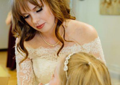 Bride x Flower Girl